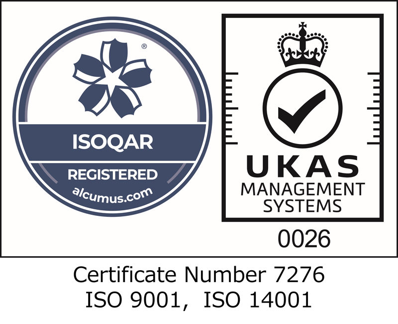 ISOQAR REGISTERED UKAS MANAGEMENT SYSTEMS 0026