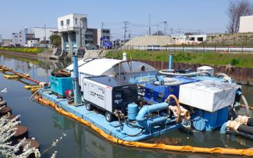 中継圧送船