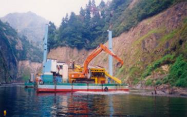 早出川ダム周辺環境整備事業工事